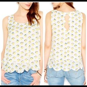 Maison Jules tiered tank top